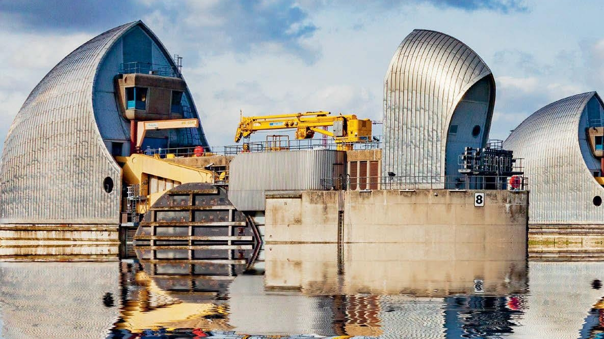 A replacement for the Thames Barrier will be required by 2070