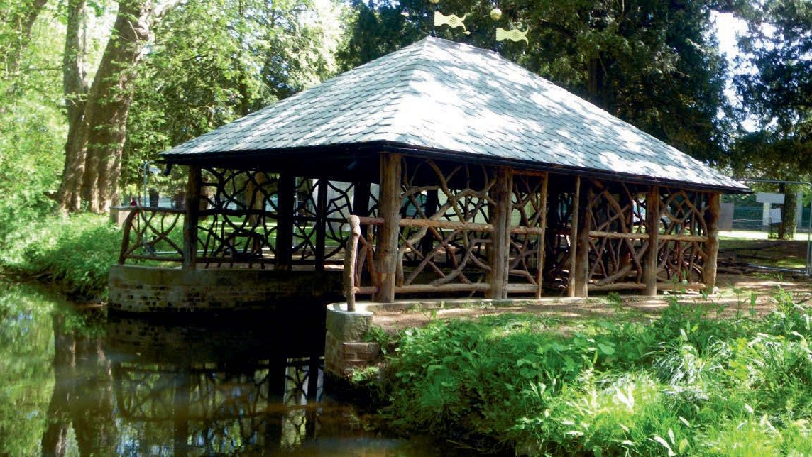 Repairing a 19th-century boathouse