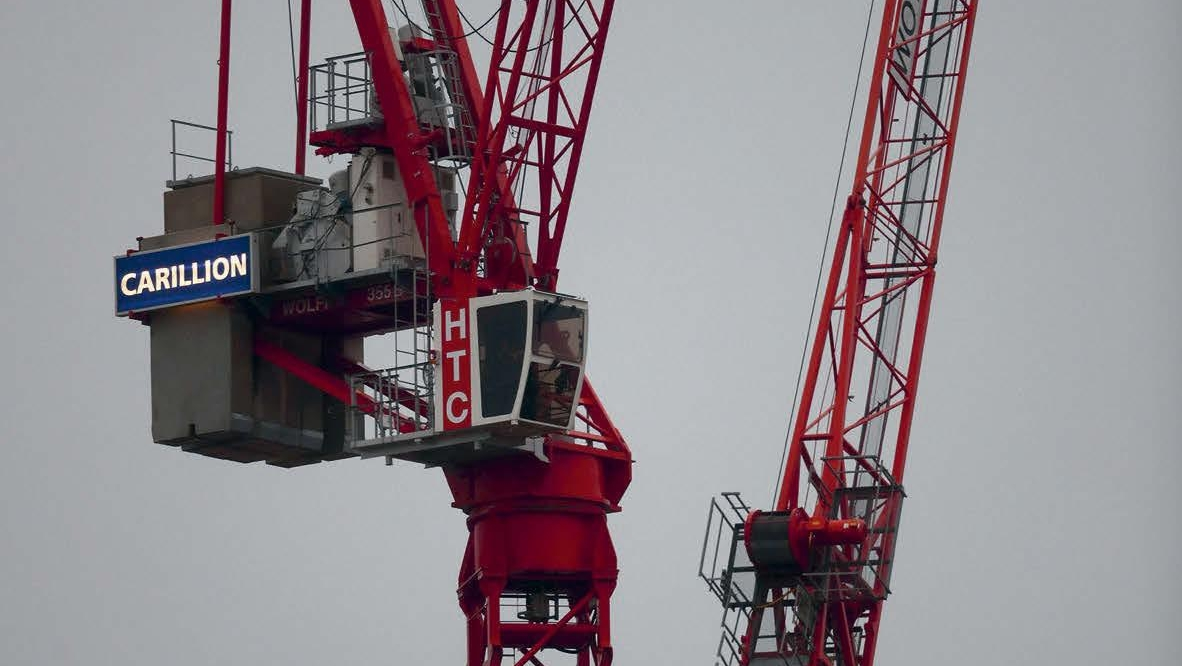 What can be done to improve the UK construction industry's fiscal health?