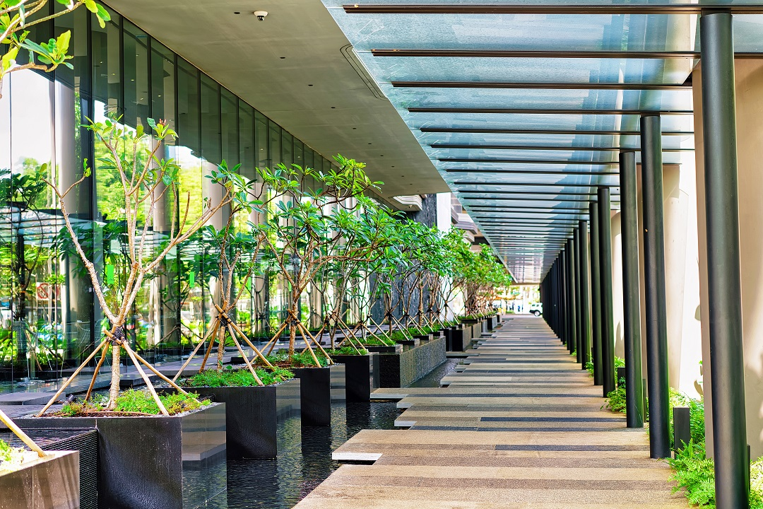 Green offices: a breath of fresh air
